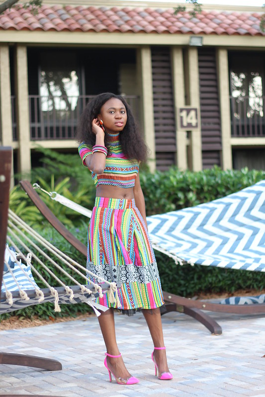 Playful Adventures, Florida, Swayhair, Crop top, full skirt
