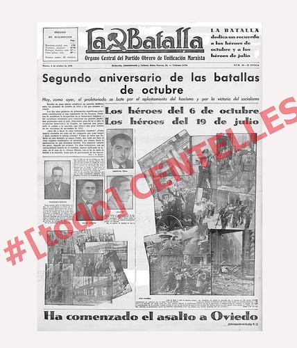 «La Batalla»  octubre de 1936, fotos de Agustí Centelles. by Octavi Centelles