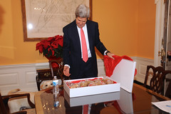 Celebrating Secretary Kerry's 70th Birthday With Cookies