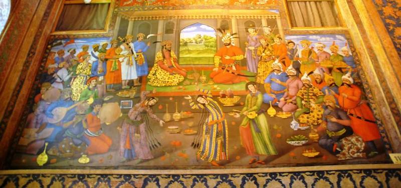 58 Palacio de Chehel Sotun o de las 40 columnas en Isfahan (13)