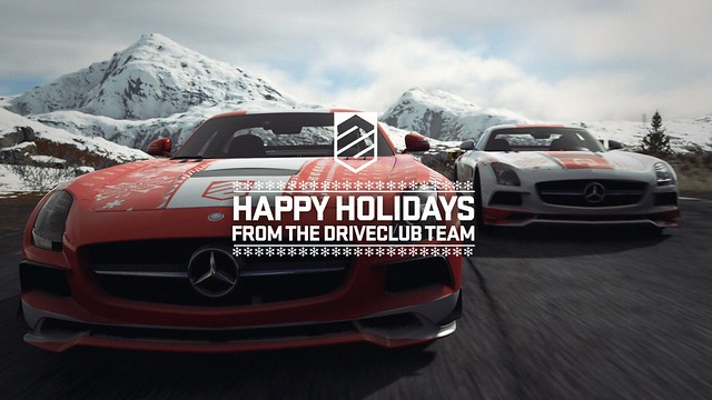 Season's Greetings from the Driveclub Team