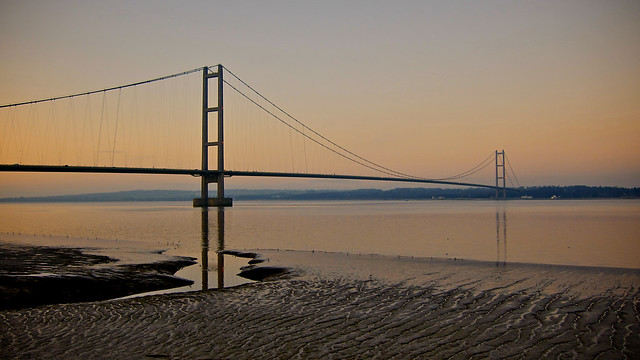Boxing Day at the Humber Bridge