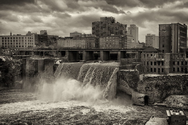High Falls Rochester, New York