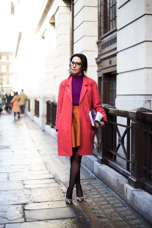 Street Style - Mary Yasmine Arrouche, London Collections: Men