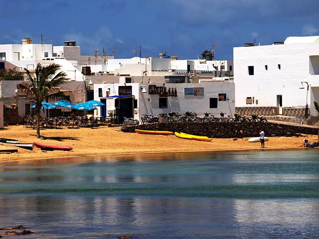 Cafes, Caleta del Sebo, La Graciosa, Lanzarote