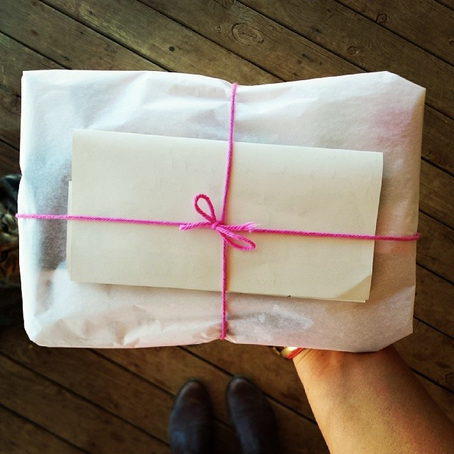 Little package on its way to someone special --- I love 'swaps'!