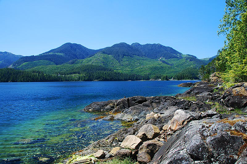 Moutcha Bay, Nootka Sound, Vancouver Island, British Columbia