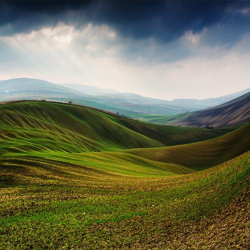landscapes waves fields czechrepublic overprocessing southmoravia juznamorava wavyfields