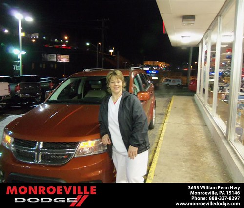 Happy Anniversary to Renee Christine Sero on your 2013 #Dodge #Journey from  Eldred Obodai  and everyone at Monroeville Dodge! #Anniversary by Monroeville Dodge