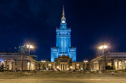 Warsaw Palace Of Culture And Science, Poland