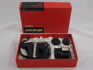 Pentax Auto 110 Super Major Components kit