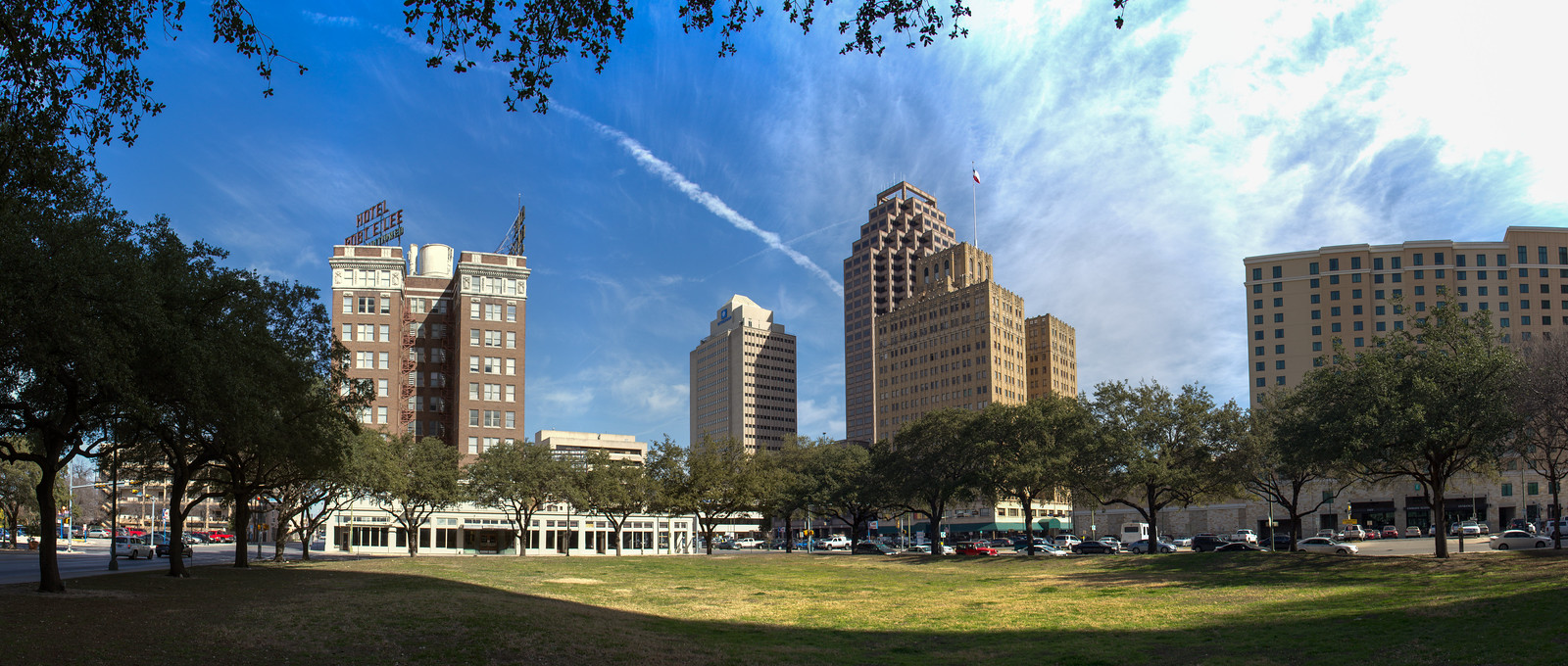 downtown san antonio panoramic photos