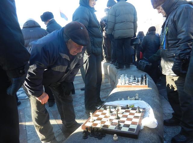 Шахматы на Майдане