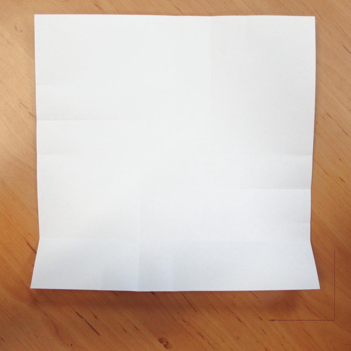 สอนการพับกระดาษเป็นที่ใส่ของรูปกลีบกุหลาบ (Rose box origami) 017