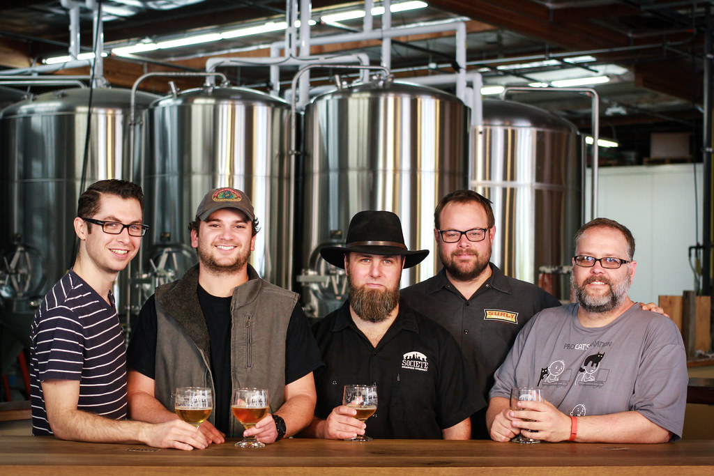 New Brew Thursday : The Harlot : Societe Brewing Company : with Travis Smith & Doug Constantiner