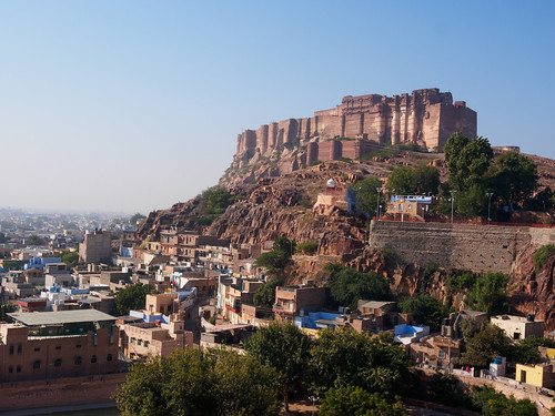 india day clear rajasthan jodhpur suncity bluecity marwar mehrangarhfort जोधपुर मेहरानगढ़काकिला