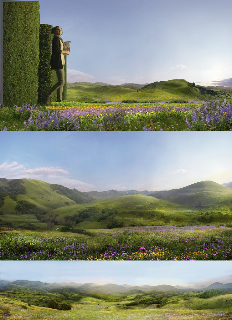 commercial matte painting