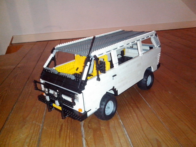 wip volkswagen transporter syncro 4x4 lego technic. Black Bedroom Furniture Sets. Home Design Ideas