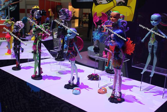 """NY Toy Fair 2014 - las colecciones """"Zombie Dance"""" e """"Inner Monster"""", el nuevo tipo de CAM (Create-A-Monster)"""