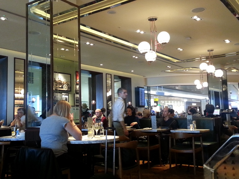 Oriel Restaurant Heathrow