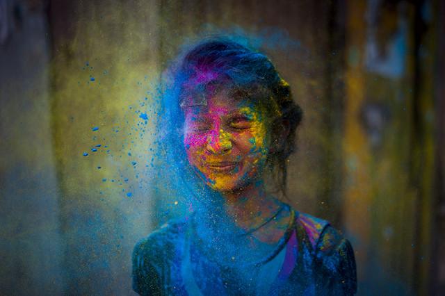 Holi 2014 – Colorful Photos From Amazing Photographers