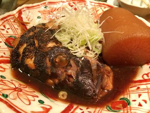 真鯛の煮付け@渋三魚金