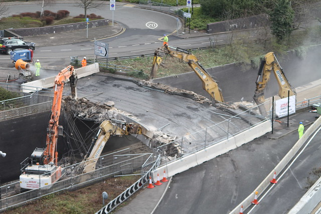 Junction 6 bridge removal