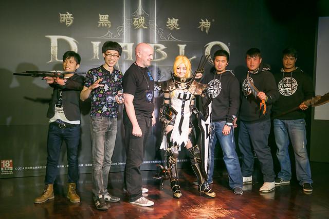 《暗黑破壞神® III:奪魂之鐮™》席捲全台 3 月 25 日凌晨 2 時上線 決戰歿天使! @3C 達人廖阿輝