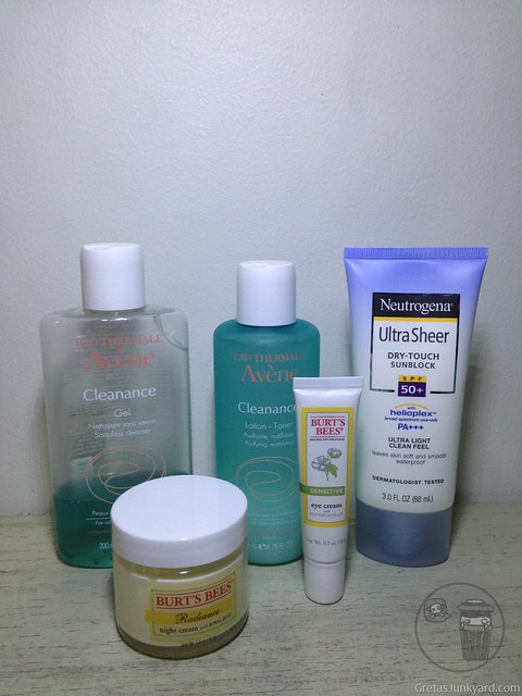 avene eau thermale cleanance gel and lotion toner