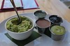 Guacamole and Four Seasonal Salsas