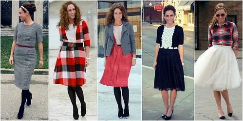 modest dresses via Kristina J blog