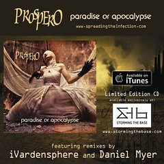 Prospero, Paradise or Apocalypse out now! Very proud of this work!