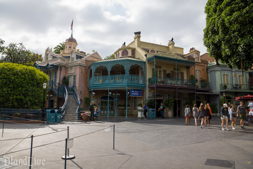 New Orleans Square - Disneyland