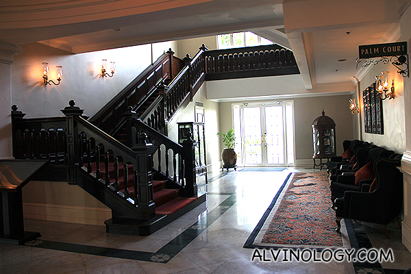 Vintage staircases and furnitures