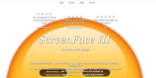Screen face #tdc873