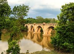 rail bridge over the Rappahannock