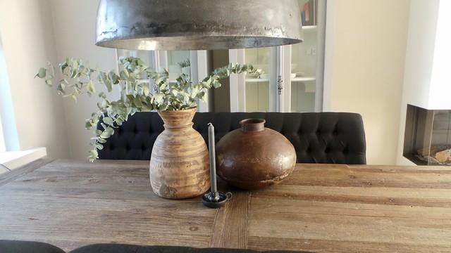 Lamp eethoek landelijk