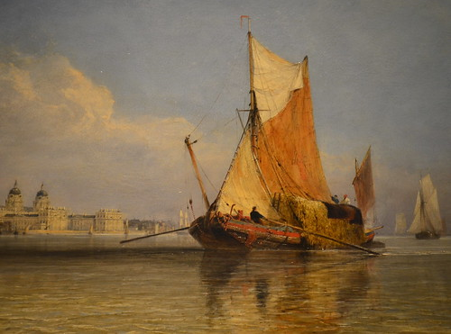 Edward Cooke - Hay Barge Off Greenwich
