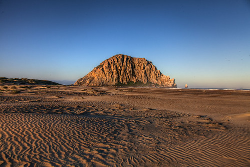 Sunrise on Morro Rock