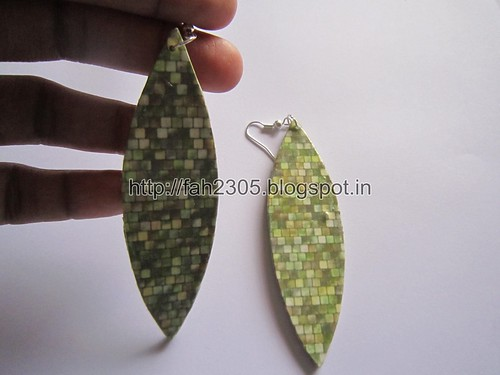 Handmade Jewelry - Card Paper Earrings  (Album 3) (4) by fah2305