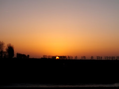 Sunset at 9pm - Mount Saint Michel