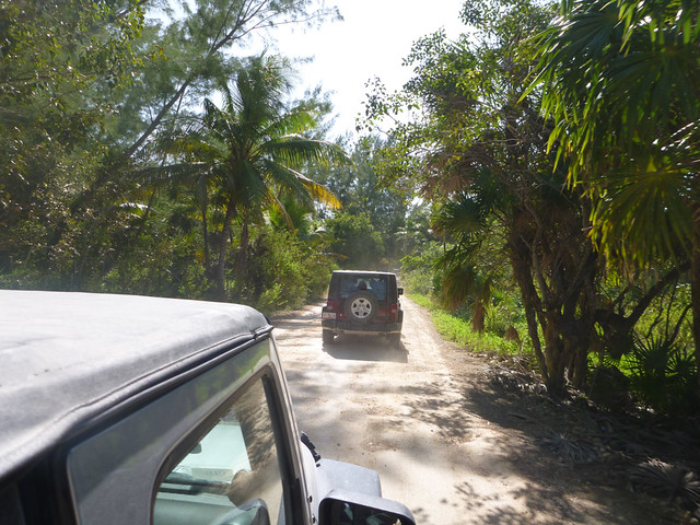 Jeep expedition to Sian-Ka'an