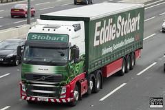 Volvo FH 6x2 Tractor - PX11 BXC - Katie Leah - Eddie Stobart - M1 J10 Luton - Steven Gray - IMG_8971