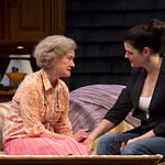 Nancy E. Carroll and Kate Shindle in the Huntington Theatre Company's production of Gina Gionfriddo's RAPTURE, BLISTER, BURN. May 24 – June 30, 2013 at South End / Calderwood Pavilion at the BCA. photo: T. Charles Erickson.