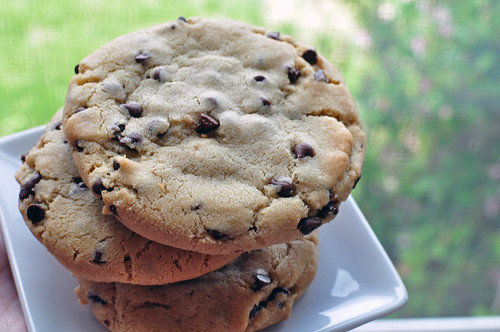 Thick, Bakery Style Chocolate Chip Cookies - Meg's Everyday Indulgence