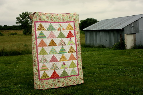 Fresh-cut Bed Quilt