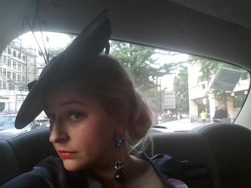 Sasha Wilkins Edwina Ibbotson hat