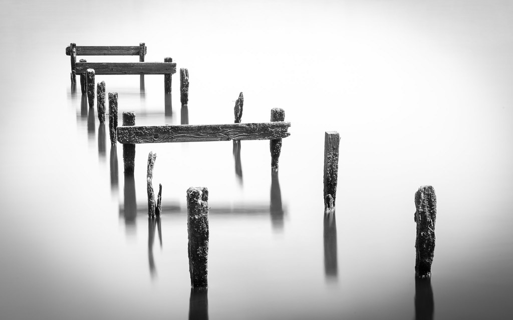 The Old Jetty Oxford Island - Long Exposure Mono Version | Flickr