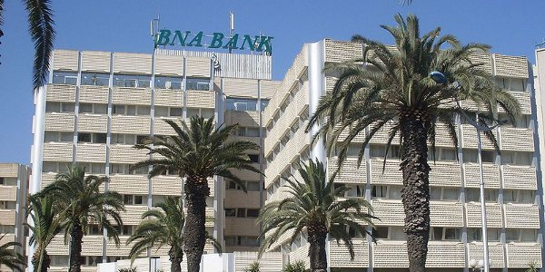 Headquarters of the National Agricultural Bank, one of the three state-owned Tunisian banks. Image courtesy Wikimedia Commons