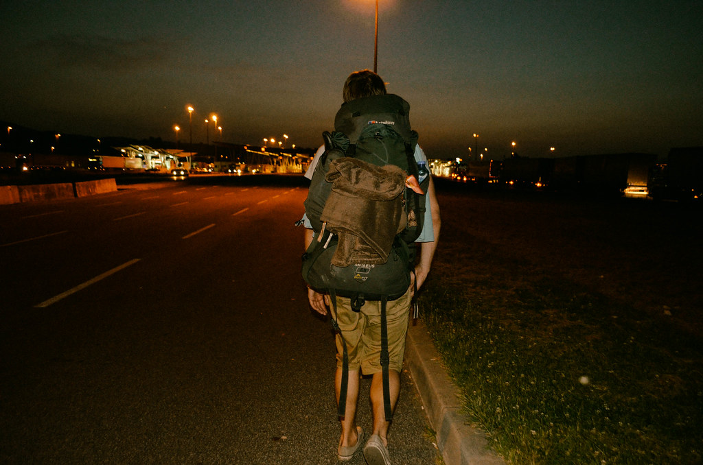 Crossing the Turkish-Bulgarian border on foot at night
